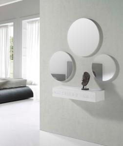 Espejos circulares sin marco