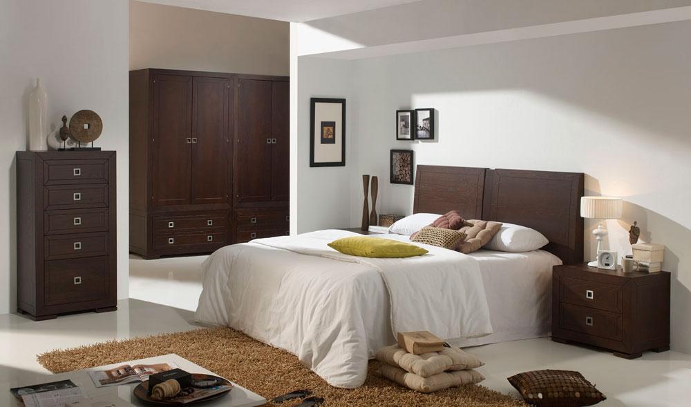 Dormitorio Colonial de Mundo Madera en Zaragoza