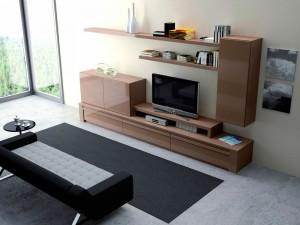 Muebles de madera modernos