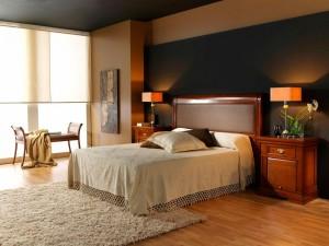 Dormitorio clásico amplio en Zaragoza
