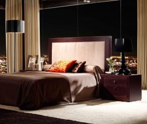 Dormitorio contemporáneo elegante Zaragoza