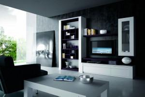 Decoración moderna muebles de salón Zaragoza