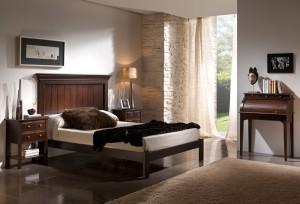 Dormitorio a medida colonial