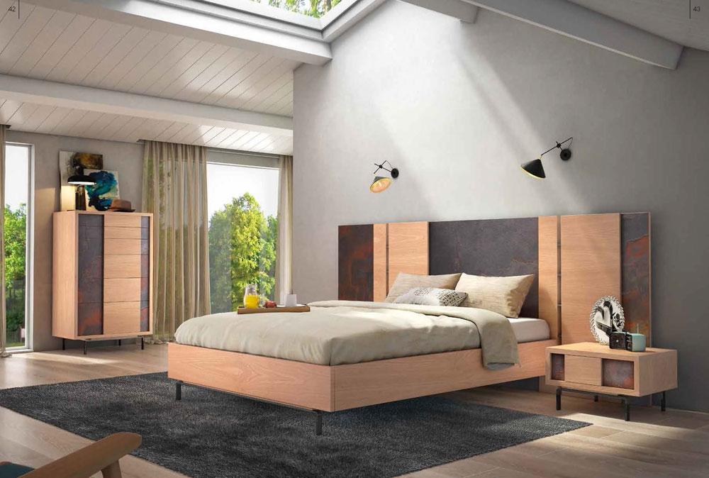 Dormitorios de madera modernos camas estilo minimalista for Dormitorios madera modernos