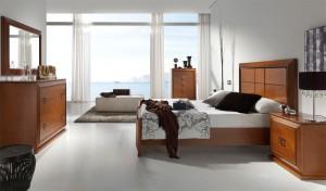 Dormitorio contemporáneo grande Zaragoza