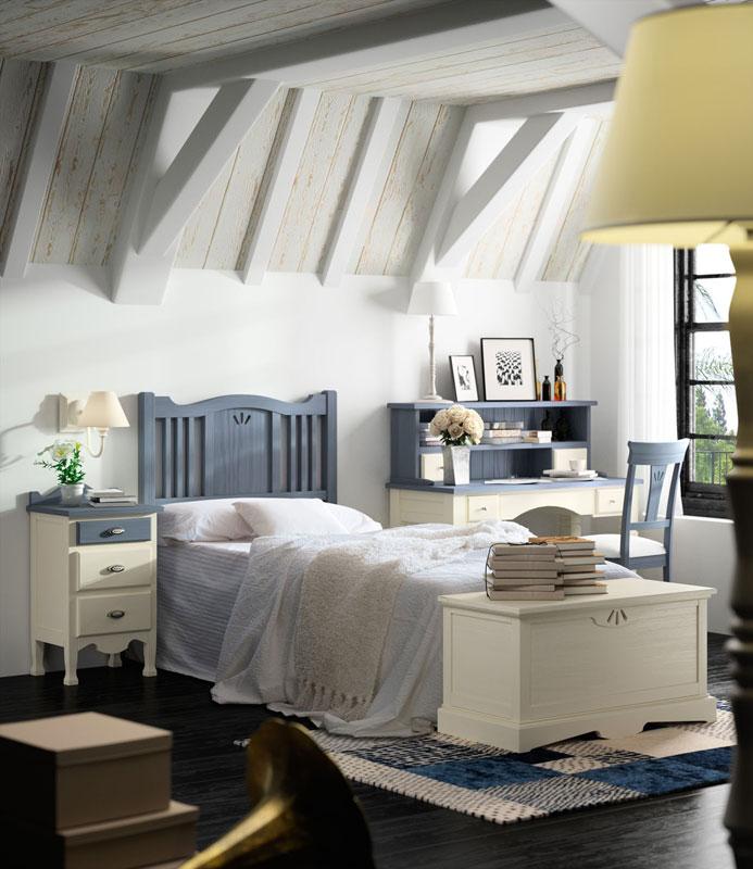 06-dormitorio-infantil-juvenil-lacado-madera-mundo-madera - Mundo ...