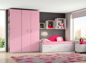 muebles juveniles e infantiles niña