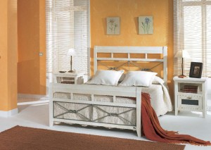 dormitorio blanco colonial Zaragoza