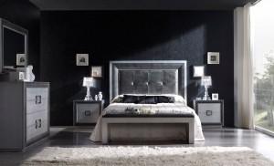 Dormitorio contemporáneo con moqueta en Zaragoza