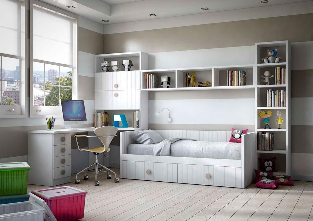 08-dormitorio-infantil-juvenil-lacado-madera-mundo-madera - Mundo ...