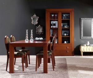 Mesa y armario colonial