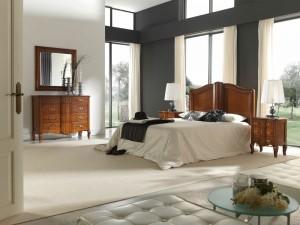 Dormitorio clásico tocador en Zaragoza