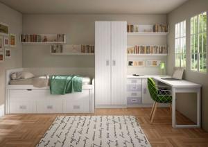 Muebles a medida dormitorio juvenil