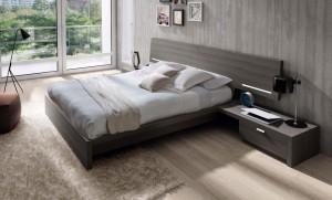 Beig moderno dormitorio en Zaragoza