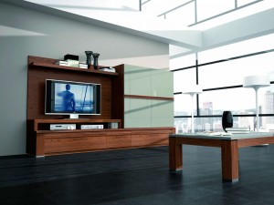 Muebles de madera comedor moderno