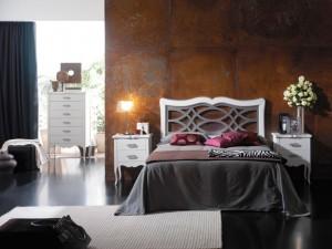 Dormitorio clásico manda gris en Zaragoza