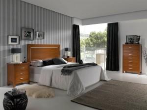 dormitorio a medida colonial en Zaragoza