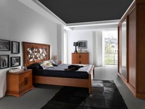 Dormitorio contemporáneo  negro y marrón en Zaragoza