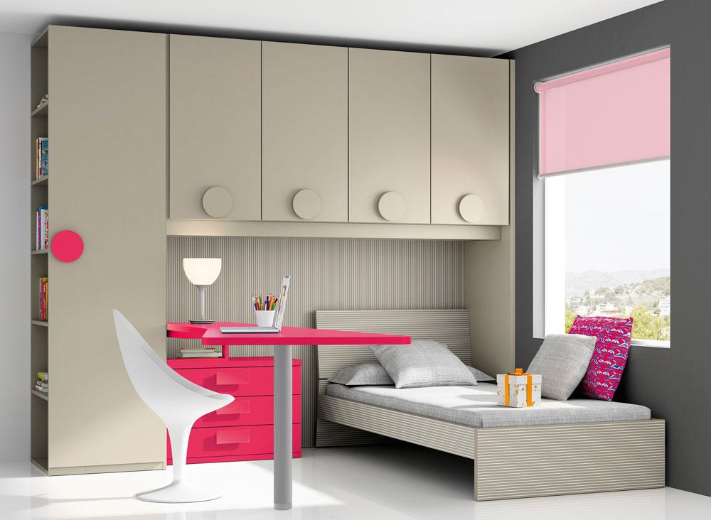 10 dormitorio juvenil melamina mundo madera mundo madera - Muebles de madera a medida ...