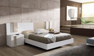 Volante cama moderno dormitorio de Zaragoza