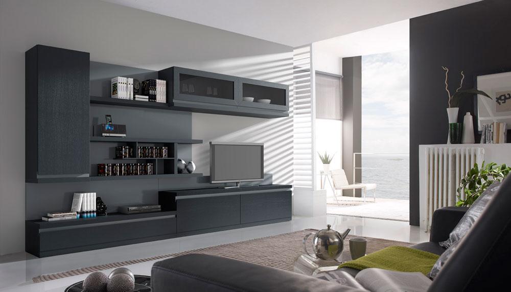 Muebles de sal n modernos todo sobre decoraci n de salones for Salones de madera modernos