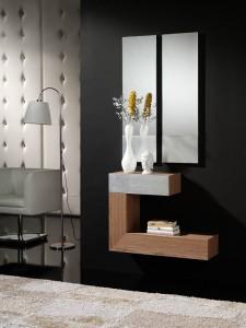 Espejos alargados verticales sin marco