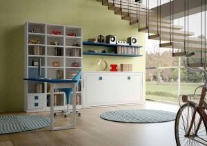 Muebles a medida almacenamiento juvenil
