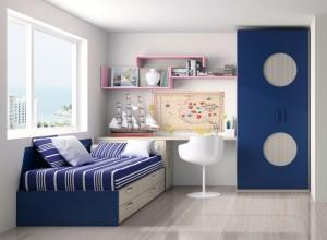 muebles juveniles zaragoza azul