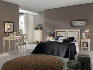 dormitorio Zaragoza colonial a medida