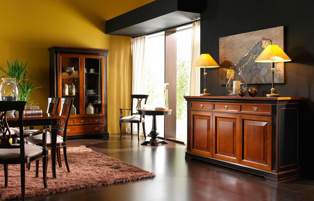 Comedores cl sicos y salones cl sicos for Modernizar salon muebles clasicos