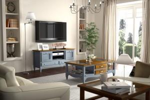 Muebles para el salón colonial