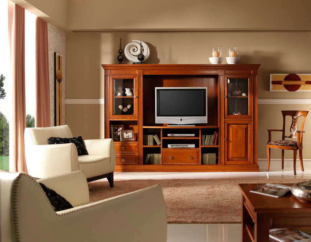 15 salon clasico mundo madera mundo madera s l muebles - Fotos muebles salon ...