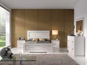 Dormitorio clásico alfombra en Zaragoza