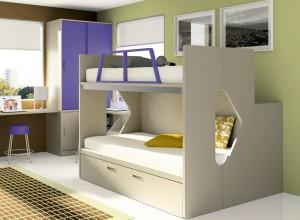 muebles juveniles en zaragoza literas blancas