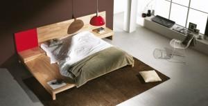 Dormitorio moderno tabla cabecero en Zaragoza