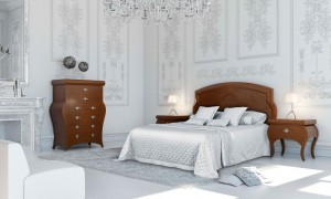 Dormitorio clásico castillo Zaragoza