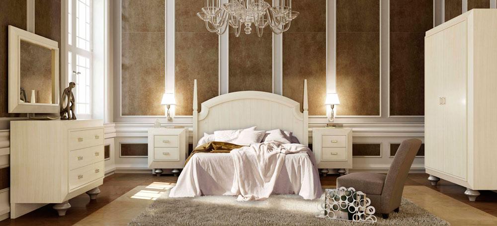 Dormitorios cl sicos decoraci n cl sica en - Dormitorios juveniles clasicos madera ...