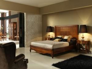 Dormitorio clásico color beige en Zaragoza