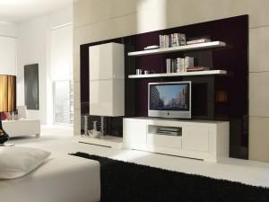 Muebles blanco en Zaragoza para salones modernos