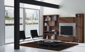 Muebles de madera para salón moderno Zaragoza