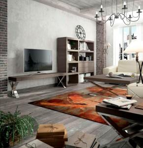 Muebles modernos salón sencillo Zaragoza