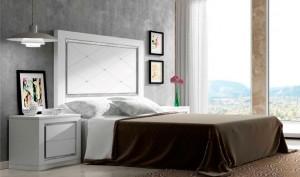 Dormitorio contemporáneo  amplio cabecero Zaragoza