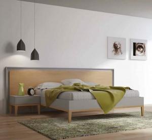 Manta color verde dormitorio moderno en Zaragoza
