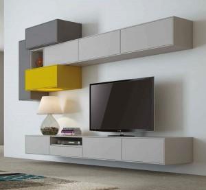 Muebles salones pequeños modernos