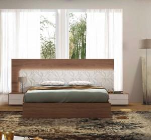 Cama diferente dormitorio moderno en Zaragoza