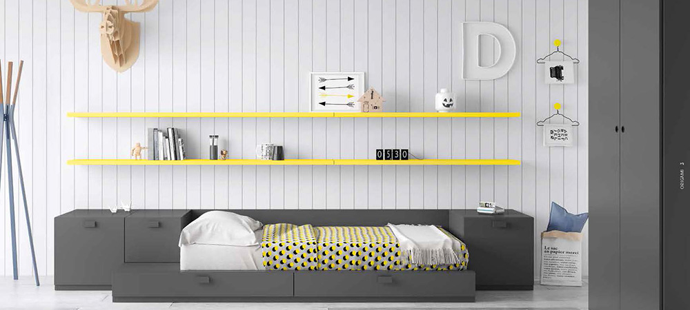 Dormitorios en melamina