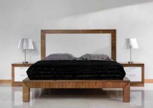 Dormitorio contemporáneo cama Zaragoza