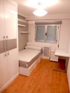 Dormitorio completo juvenil en Zaragoza