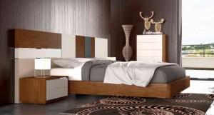 Dormitorios distintos colores modernos en Zaragoza