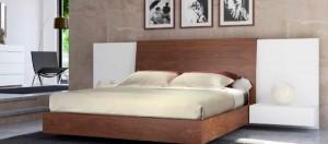 Dormitorio madera moderno en Zaragoza